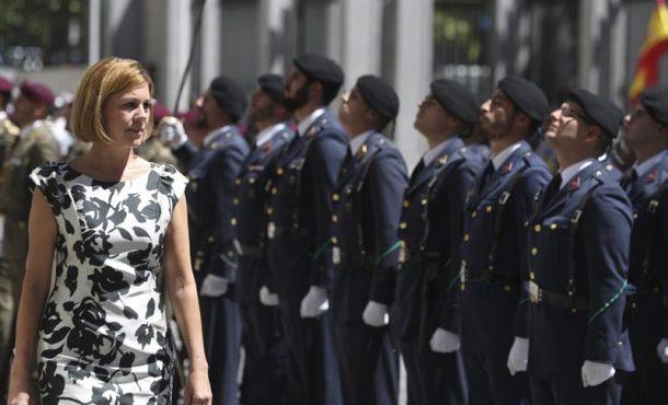 El Gobierno: Las Fuerzas Armadas están para proteger la integridad y soberanía de España