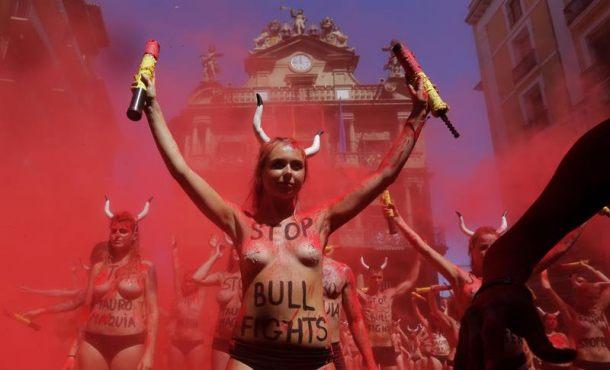 Los animalistas piden también la prohibición del San Fermín