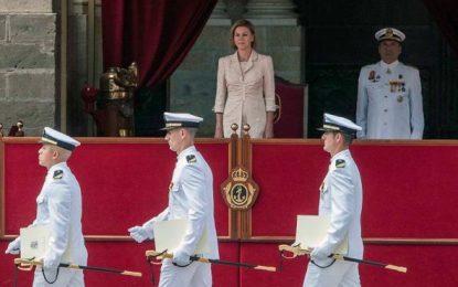 """La Armada, """"ejemplo de la Unidad de España, lo mejor del amor por"""" su Patria"""