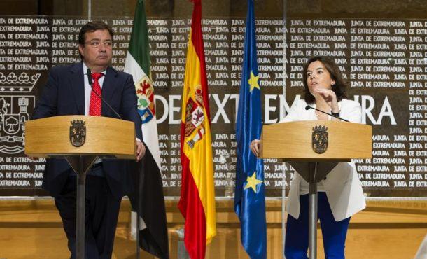 """Soraya: No habrá """"sobreactuación ni sobrereacción"""" del Gobierno en Cataluña, fracasará el referéndum"""