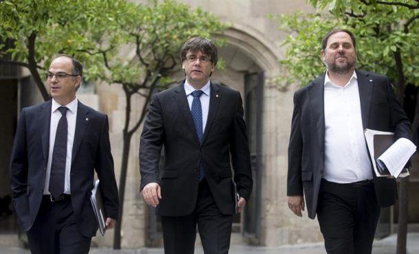 Puigdemont y Junqueras recurrirán la intervención de las cuentas de la Generalidad