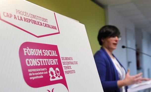 CUP pide prohibir nueva entrada de Policía y GuardiaCivil en el Parlamento catalán