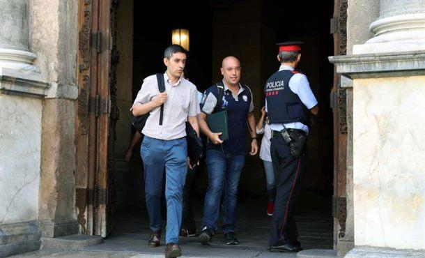 """Turull se siente """"humillado"""" tras el registro de la Guardia Civil en dependencias de Gobierno catalán"""