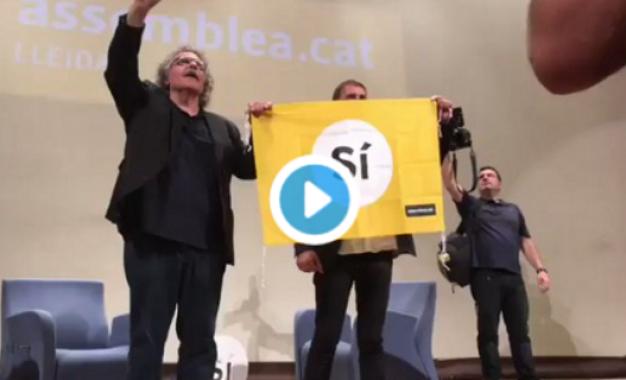 """Otegi: El Gobierno de España es """"autoritario"""" por el registro de """"Guardia Civil"""" en la Generalidad"""