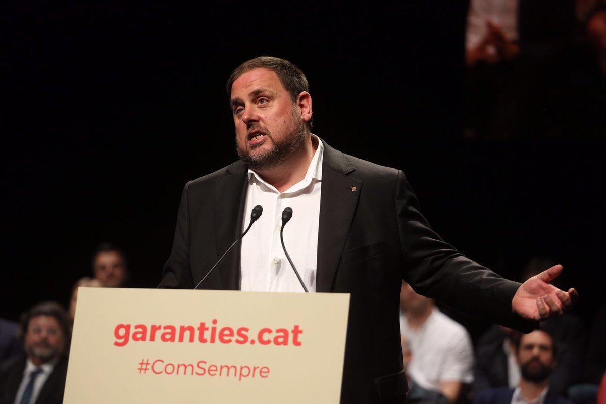 """Junqueras: La legislación española """"no es válida"""", la ley referéndum se aprobará septiembre"""