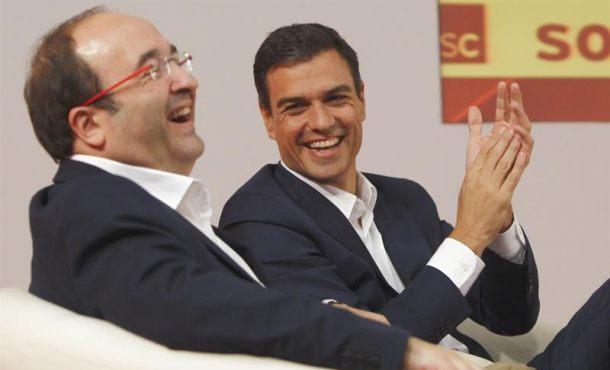 El PSOE tiene un somnífero para Puigdemont y Junqueras: el catalán obligado y Cataluña Nación