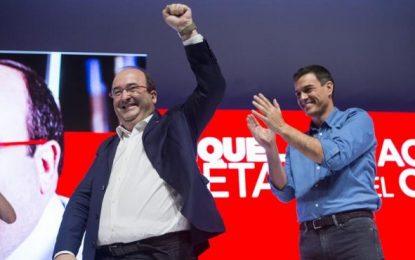 Iceta, proclamado candidato del PSC al Gobierno de Cataluña con un 97,6 % de apoyo