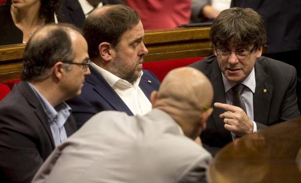 """El Gobierno catalán denuncia la """"persecución"""" a separatistas y garantiza que """"habrá referéndum"""""""