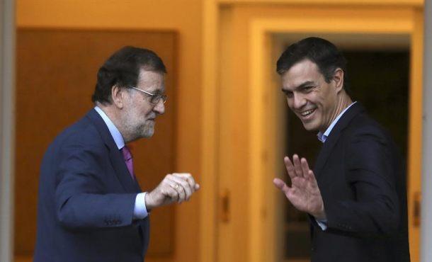 Sánchez avisa a Rajoy de que si no habla con el separatismo catalán el PSOE tomará la iniciativa