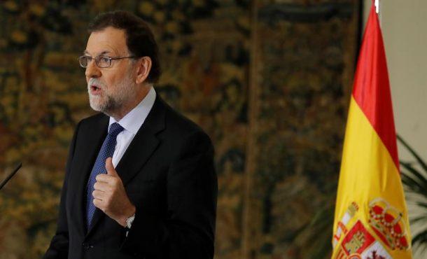 """Rajoy: """"No habrá referéndum el 1-O"""", nadie """"puedejactarse de que va a incumplir la ley"""""""