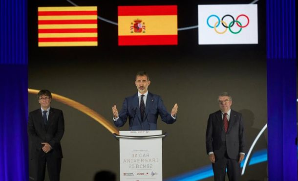 """El Rey: Barcelona'92 mostró al mundo la """"concordia, respeto y unión"""" de España"""
