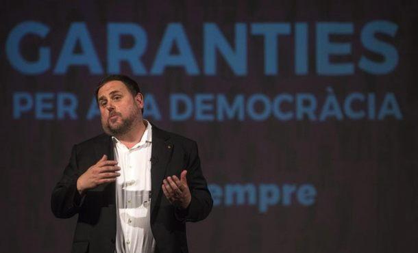 """Junqueras: España """"entorpecerá"""" todo ante una compra """"encubierta"""" de urnas del referéndum"""