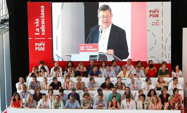 """Puig (PSOE): """"Valencia"""" es una """"Nación internacionalista"""" en la """"Nación de naciones"""" de España"""