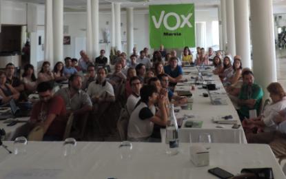 80 alumnos participan en las intensas Jornadas del Campus 2017 de VOX en Mazarrón (Murcia)