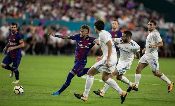 El primer clásico oficial sin la estrella de FC Barsa en el Campo Nuevo, Neymar Da Silva