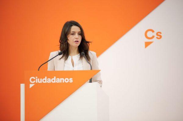 """Arrimadas: La ayuda de toda España seguirá en """"Cataluña"""" pero no para financiar el separatismo"""