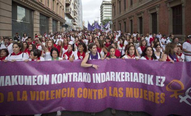 Agresiones sexuales y sexistas, otra tradición de los Sanfermines en Pamplona