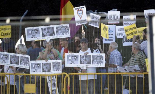 """Piden """"Ilegalizar al Partido Popular (PP): El Partido de la Mafia"""", ante el Tribunal del Gürtel"""