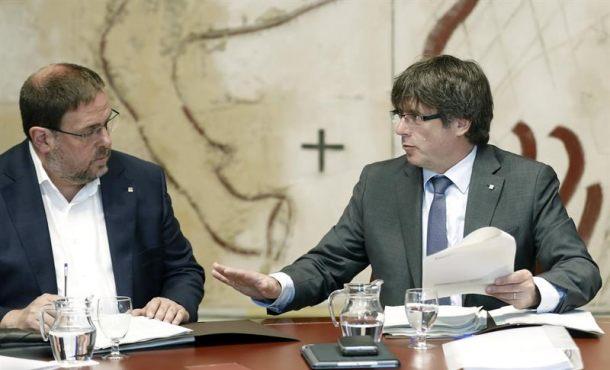 """Puigdemont desoirá a la Justicia si anula la Ley del Referéndum """"con todas las consecuencias"""""""