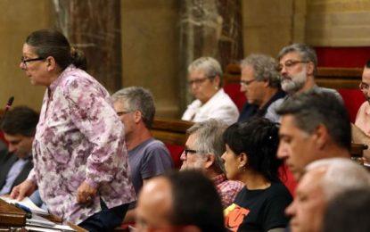 La CUP aprobaría las leyes de ruptura en el próximo pleno del Parlamento de Cataluña