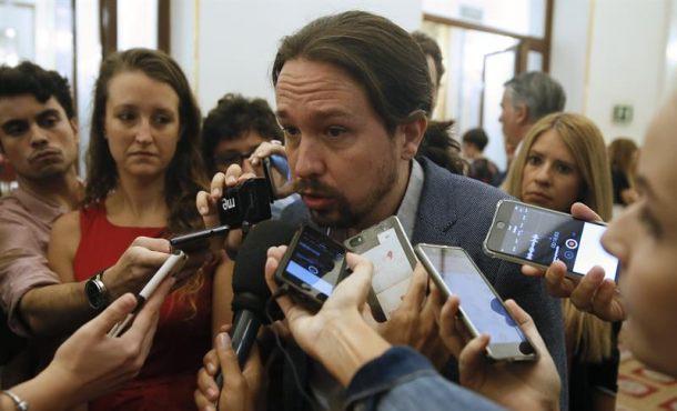 """Iglesias pide que el Gobierno """"no se vaya de rositas"""" tras la declaración de Rajoy"""