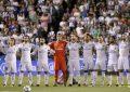El campeón (Real Madrid) es líder de la liga
