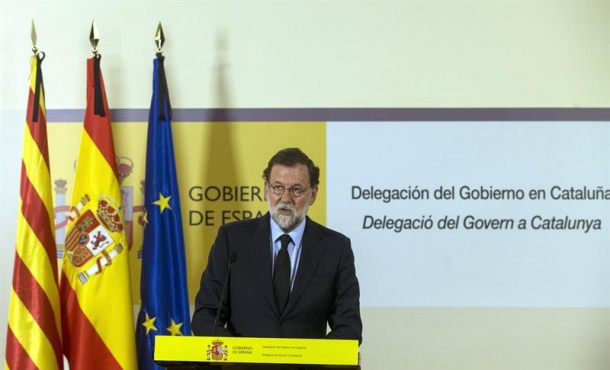 """Rajoy: A los terroristas se les vence con la defensa de la """"libertadad"""" y unidad"""