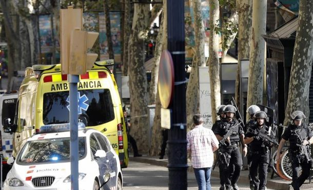 """PxC se """"suma"""" a la concentración """"espontánea"""" contra """"terrorismo islámico"""" en Barcelona"""