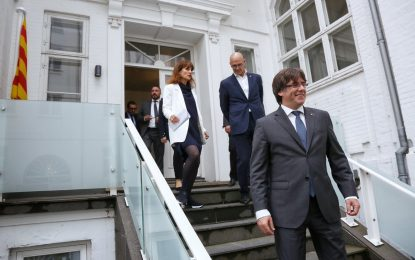 """""""Estamos preparados"""" con nuestros """"Mozos de Escuadra"""" para la República Catalana"""