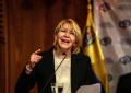 La exfiscal antichavista Luisa Ortega y Familia están en Bogotá (Colombia)