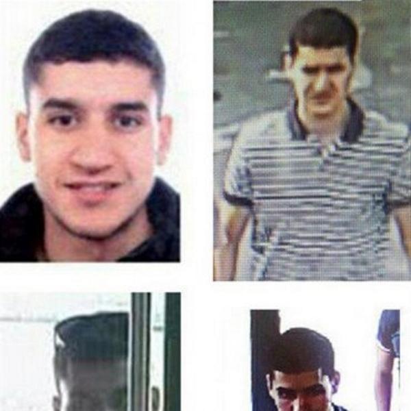 Confirman que el huido terrorista islamista conducía la furgoneta del atentado de Barcelona