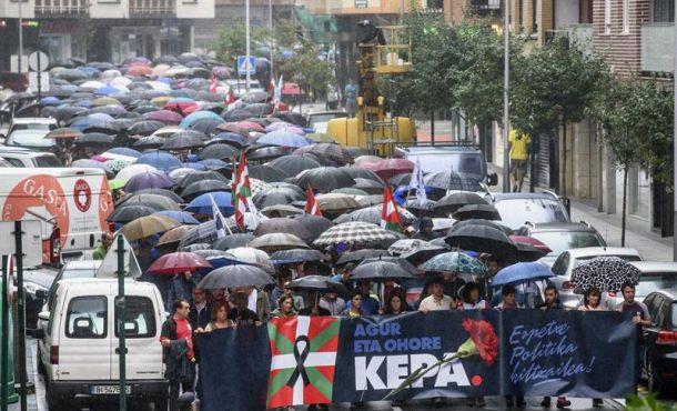 La izquierda comunista proetarra y separatista vasca rinde homenaje al etarra Kepa Del Hoyo