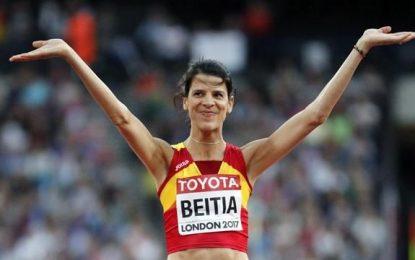 Adiós feliz en Londres de la mejor atleta española de todos los tiempos, Ruth Beitia