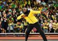 Usain Bolt se despidió de los aficionados con una apoteósica vuelta de honor en de Londres