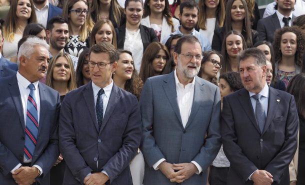 """Rajoy tacha de """"disparate"""" los ataques de las escuadras de CUP contra el """"turismo"""""""