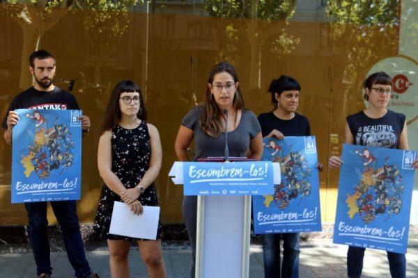 """CUP pide borrar a """"la Iglesia, Monarquía, Rajoy, Aznar y Pujol"""" en Cataluña tras el 1-O"""