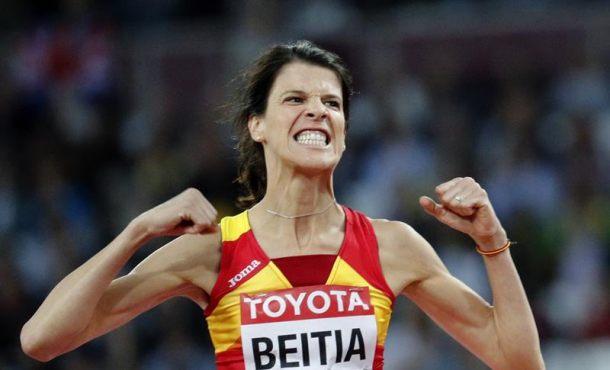"""La española de 38 años a la final, """"estoy súper contenta"""" con una sonrisa de oreja a oreja"""