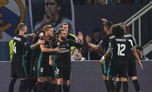 Real Madrid gana la Supercopa de Europa en Skopje (Macedonia) y alarga su reinado en Europa