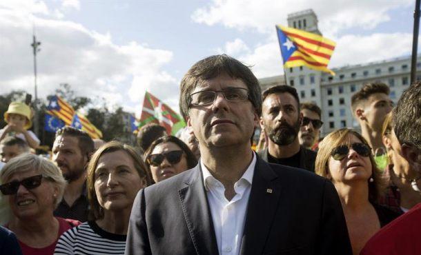 """No tengo """"miedo"""" a ser detenido por desobedecer a la Justicia,""""los catalanes votarán el 1-O"""""""