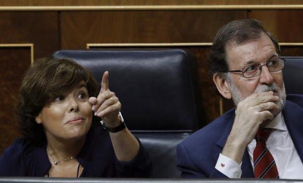 """Soraya a ERC: """"Lo que vimos en el Parlamento de Cataluña fue una tiranía"""" de separatistas"""