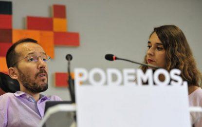 """Podemos apuesta por una moción de censura contra Rajoy y PP """"encabezada por el PSOE"""""""