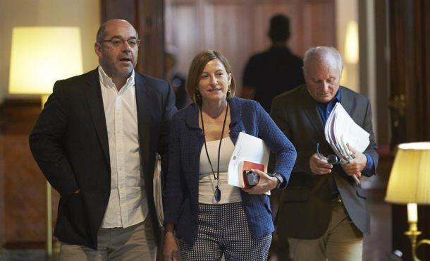 Forcadell elude por cuarta vez la tramitación de ley de referéndum (1-O)