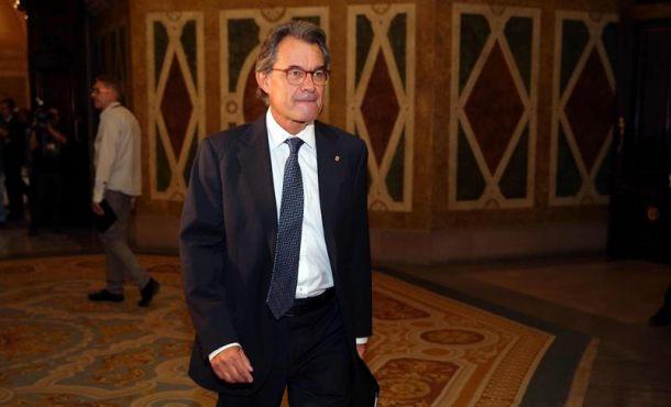 Artur Mas y varios ex altos cargos de la Generalidad citados hoy en el Tribunal por el 9N