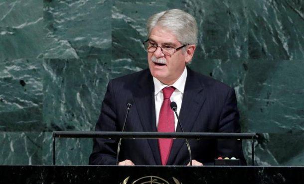 """España denuncia el """"ataque"""" separatista contra la """"democracia"""" de la Generalidad en la ONU"""