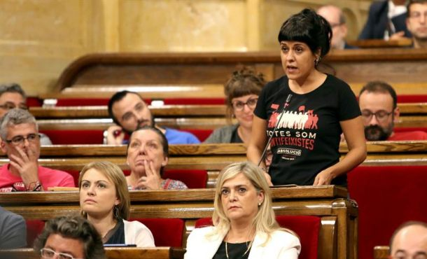 """La CUP llama a la desobediencia y movilización para """"saltar muro"""" de régimen español"""