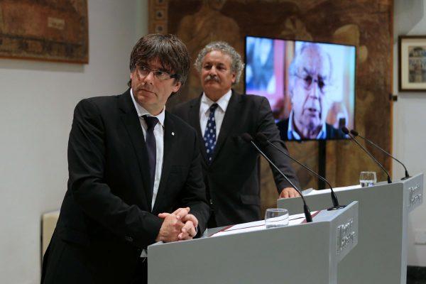 """Puigdemont: """"Prohibir el referéndum del 1-O será un Golpe de Estado"""" de Rajoy en Cataluña"""