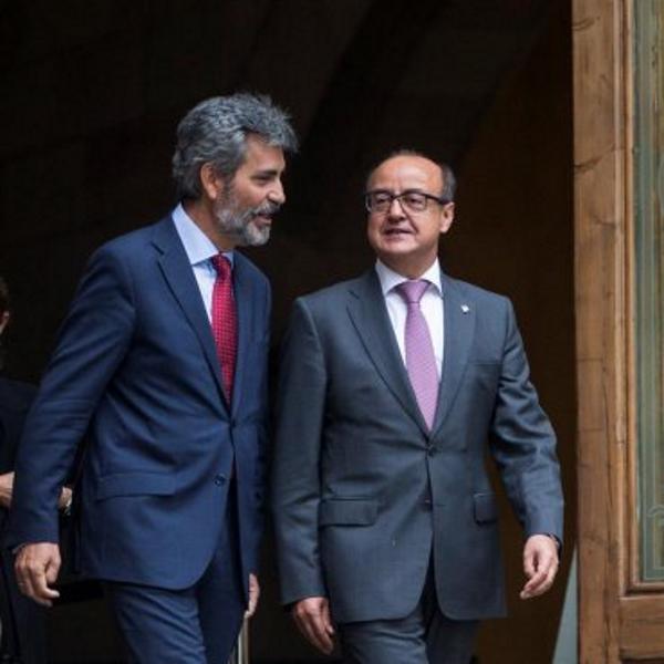 """El Presidente del Tribunal Supremo viaja a Cataluña para """"apoyar a los jueces"""" ante el 1-O """"ilegal"""""""