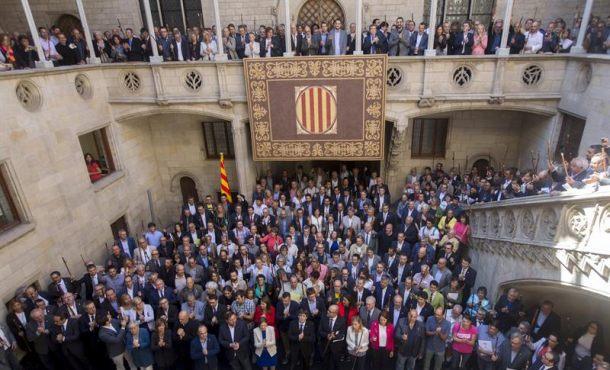 """Puigdemont: """"Y tanto que votaremos el 1-O"""" ante""""comportamiento antidemocrático del Estado"""""""