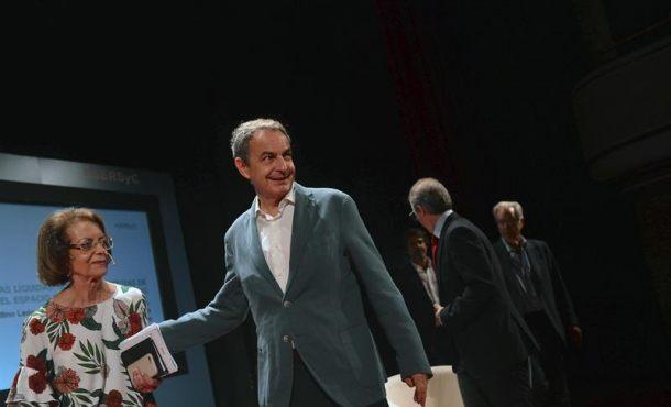 """Zapatero:""""La ruptura de la convivencia lograda con Constitución de 78 es algo muy serio y muy grave"""""""