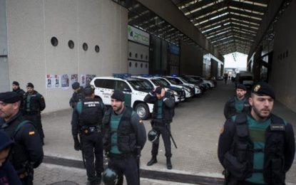 """Guardia Civil cierra otra web del 1-O, """"Este dominio se encuentra a disposición de Autoridad Judicial"""""""